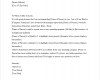 Easy and Simple Letter of Recommendation Template